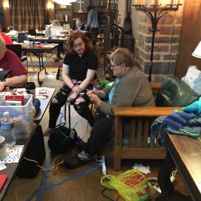 Sewing Retreat participants