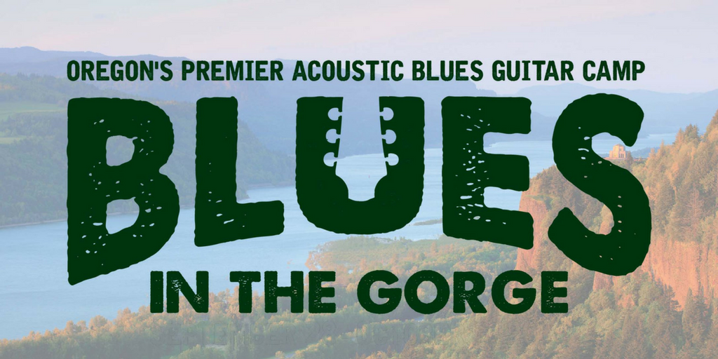 Blues in the Gorge logo
