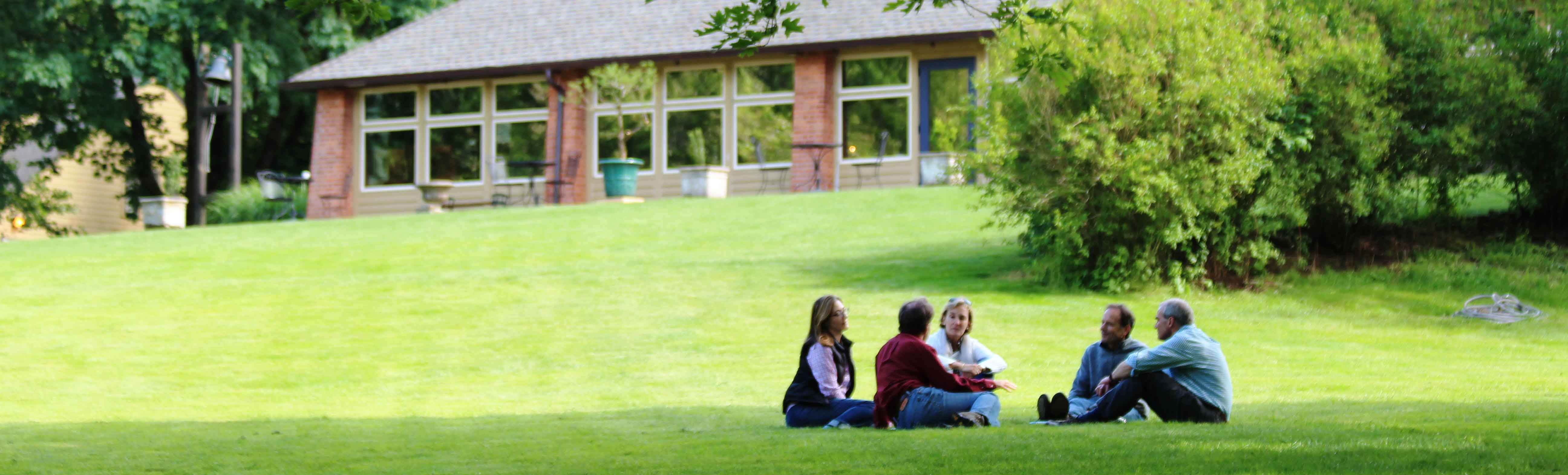 Wright hall menucha retreat and conference center for Personal retreat guide