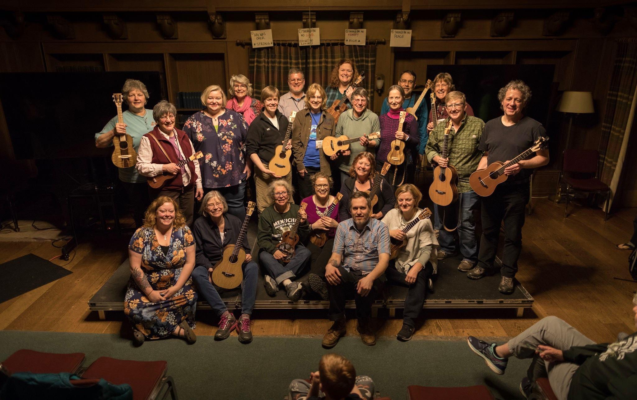 Ukulele Band Camp – 10th Annual – Menucha Retreat and